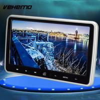Vehemo TFT LCD Car Headrest Player Vehicles DVD Monitor Universal Recorder Audio Player Portable Car