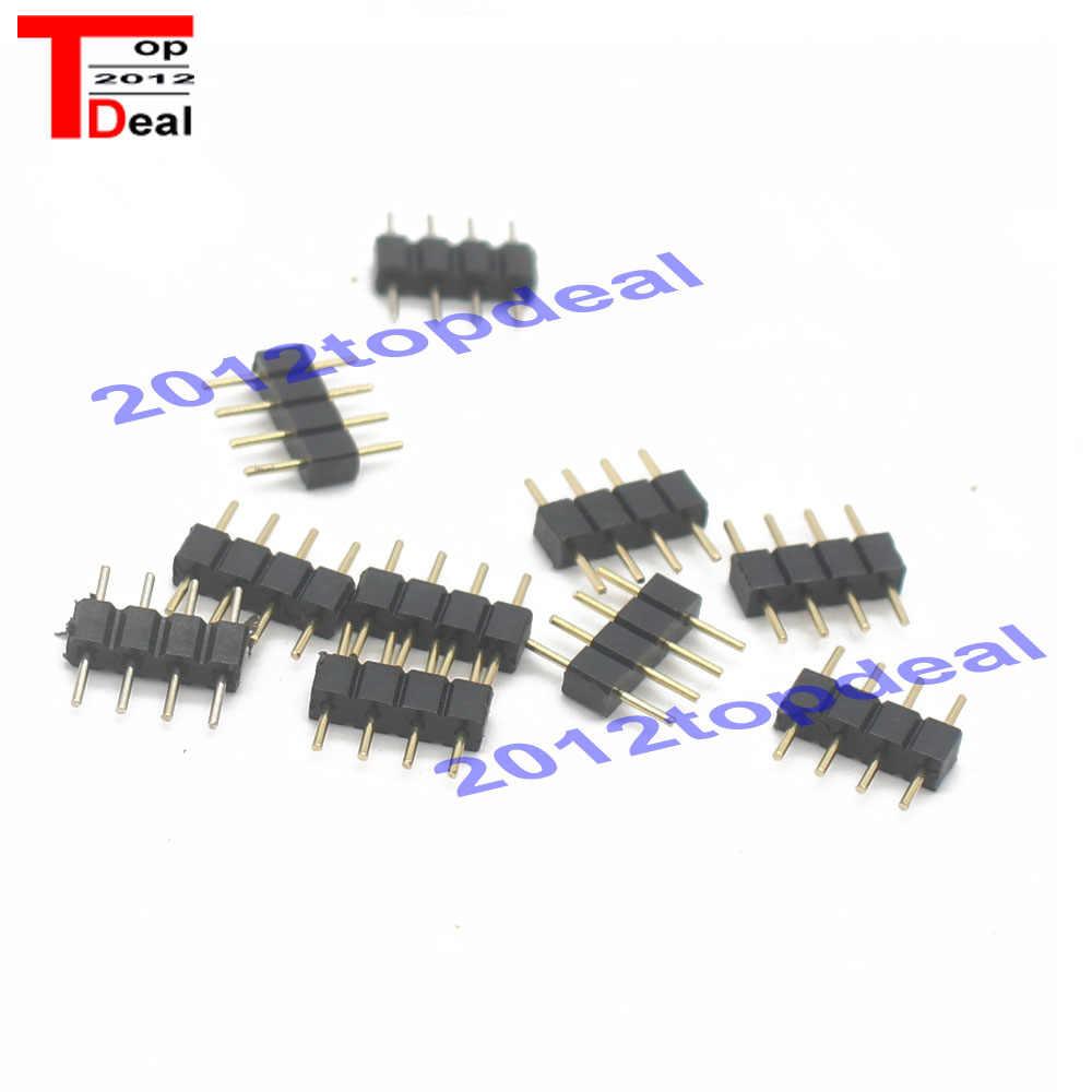 RGB pin/pin RGBW pin/pin igły złącze dla głównych pasek 10 sztuk/partia