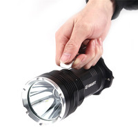 18650 LED Flashlight CREE XM L2 White and yellow long range 500 800 meters Outdoor portable Rechargeable Searchlight