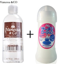 Vanessa &CO Japan Lubricant Sex Semen Lube Products For Vaginal Anal Sex Personal Lubrication Oil Smooth Sexual Lubrication 2pcs