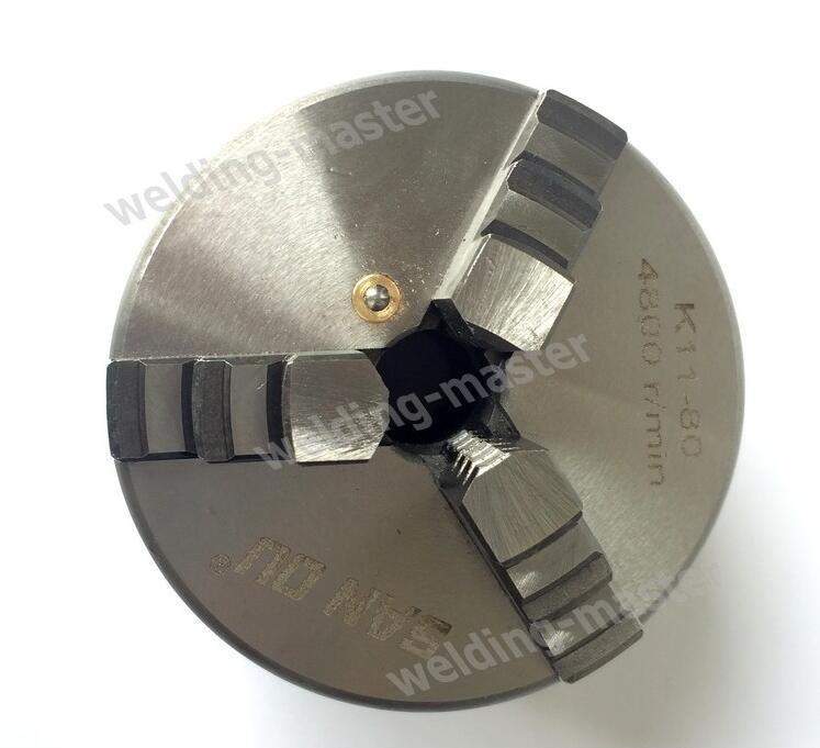 Mandrino per tornio K11-80 a 3 ganasce per posizionatore di - Macchine utensili e accessori - Fotografia 3
