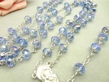 Cross necklace religious christian ornament cross crystal necklace christian and religious poems