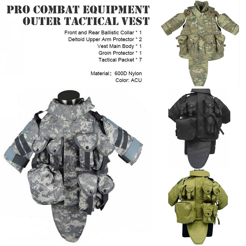 Outdoors Tactical Paintball Airsoft Military Otv Body
