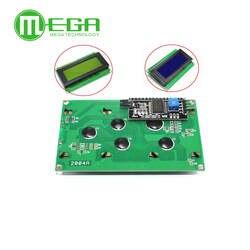 1 шт. ЖК-дисплей 2004 + I2C 2004 20x4 2004A синий экран HD44780 для arduino характер ЖК-дисплей/w IIC/I2C последовательный Интерфейс модулем адаптера