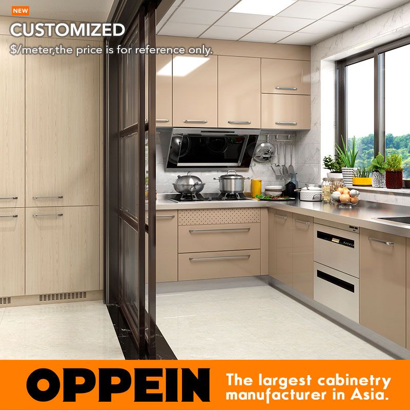 Oppein Wet And Dry Stainless Steel Kitchen Cabinet With Countertop Op17 St02 In Cabinets From Home Improvement On Aliexpress