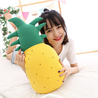 Feather cotton cushion creative plush toy simulation strawberry pineapple fruit doll sleeping pillow to send girls gifts
