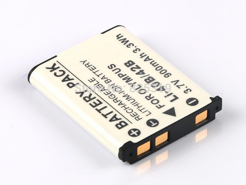 Аккумулятор для Olympus FE-20 FE20 FE-150 FE150 FE-160 FE160 FE-190 FE190 FE-220 FE220 FE-220D FE220D FE-230 FE230 FE-240 FE240