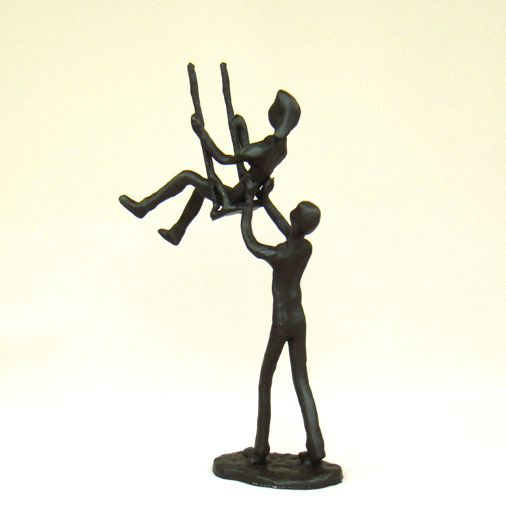 compare prices on miniature metal figurines online shoppingbuy  - romantic foundry iron swing lovers figurine decorative metal coupleminiature craftworks present for wedding and valentine's