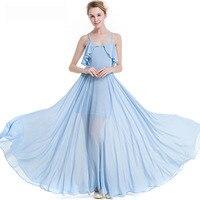 2018 Sexy Women Boho Maxi Club Dress Evening Party Long Dresses Womens Spaghetti Strap Dress Elegant