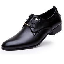 Designer Männer Flas Italienischen Leder Schuhe Mann Spitzschuh Brogue Oxford Schuhe Zapatos Hombre GRÖßE 38-46