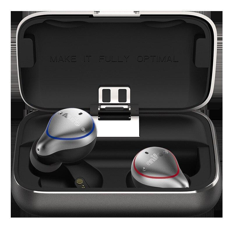 Mifo O5 Bluetooth Vero Al 5.0 Senza Fili di Bluetooth Auricolare Senza Fili Binaurale Mini Auricolari In-Ear di Sport Corsa e Jogging Auricolari Impermeabili