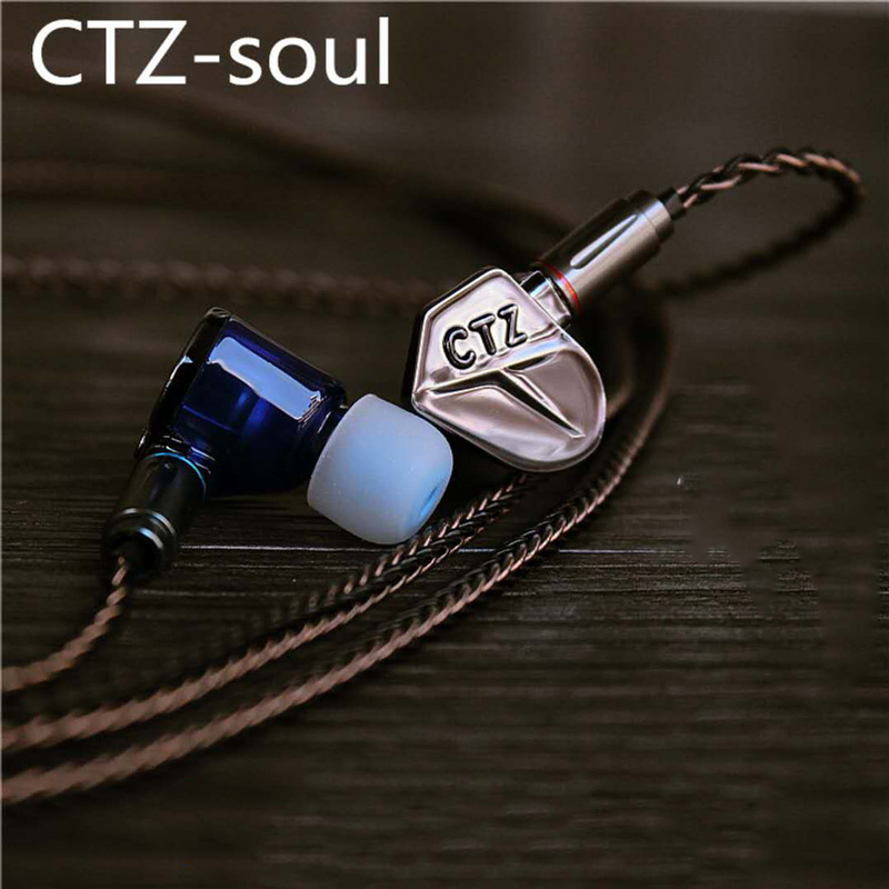 CTZ 1DD+1BA In-Ear Earphone Balanced Armature Dynamic Subwoofer Stereo Headset Noise Cancelling HIFI Earbuds for iPhone xiaomi kz zsr bluetooth headphones balanced armature with dynamic in ear earphone 2ba 1dd unit noise cancel headset replacement cable
