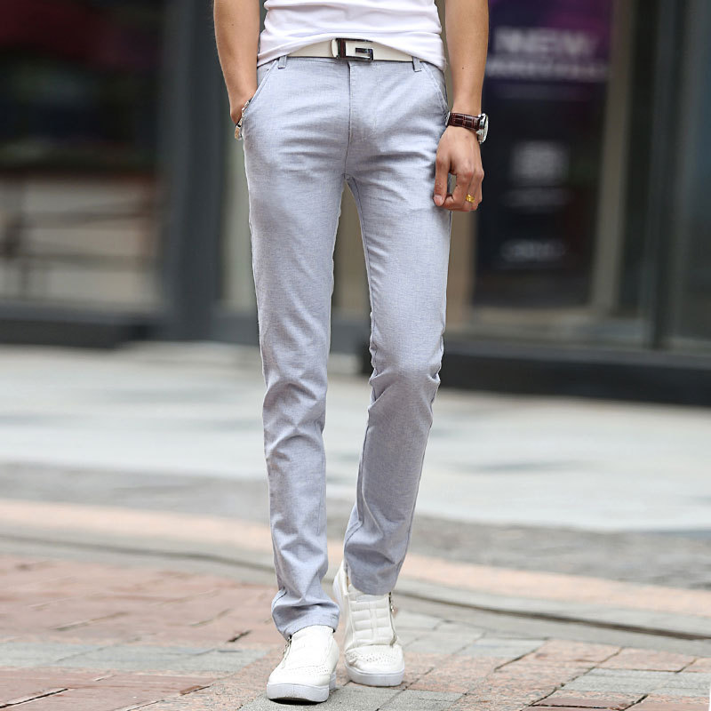 Popular Mens Linen Pants Slim Fit-Buy Cheap Mens Linen Pants Slim ...