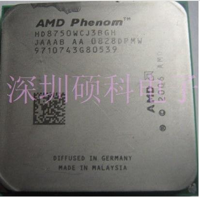 AMD Phenom X3 8750 x3 8750 2 4GHz Triple Core Processor Socket AM2 AM2 940 pin