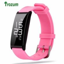 Trozum X9 монитор сердечного ритма Смарт Браслет Bluetooth4.0 водонепроницаемый смарт-браслет крови фитнес-трекер Браслет для iOS и Android