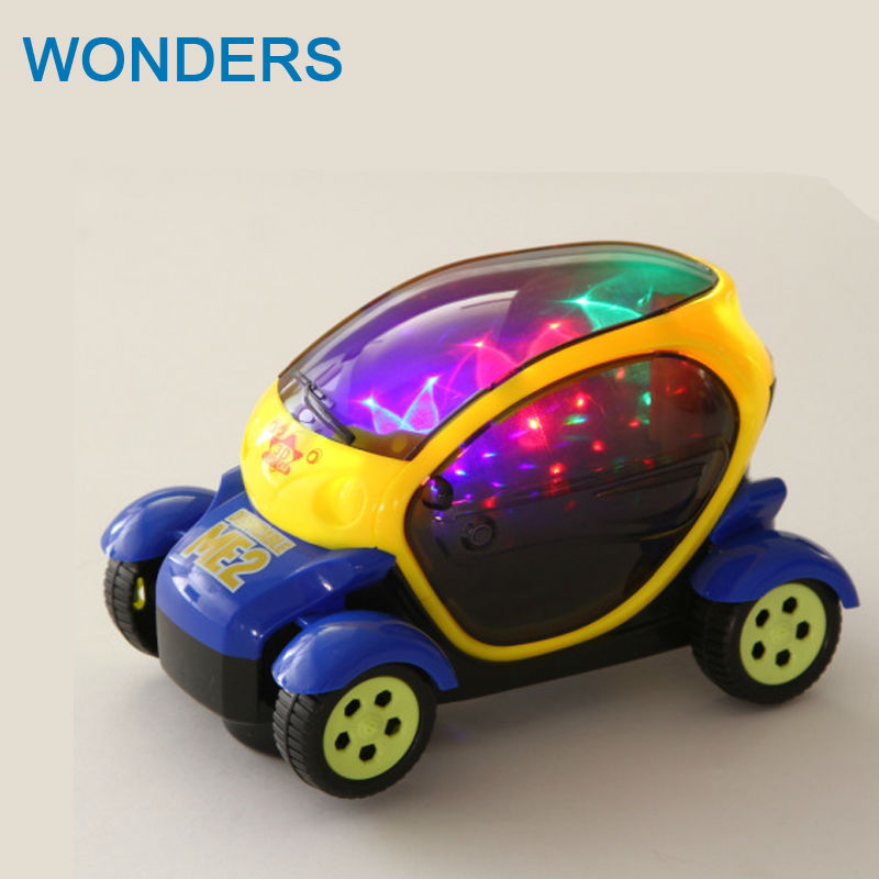 Hapybas wheel lighting electric car model Children's Toys
