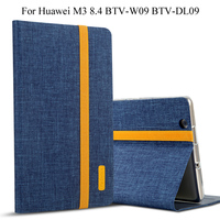 Case For Huawei MediaPad M3 8 4 BTV W09 BTV DL09 Smart Cover Tablet Silicon Cloth