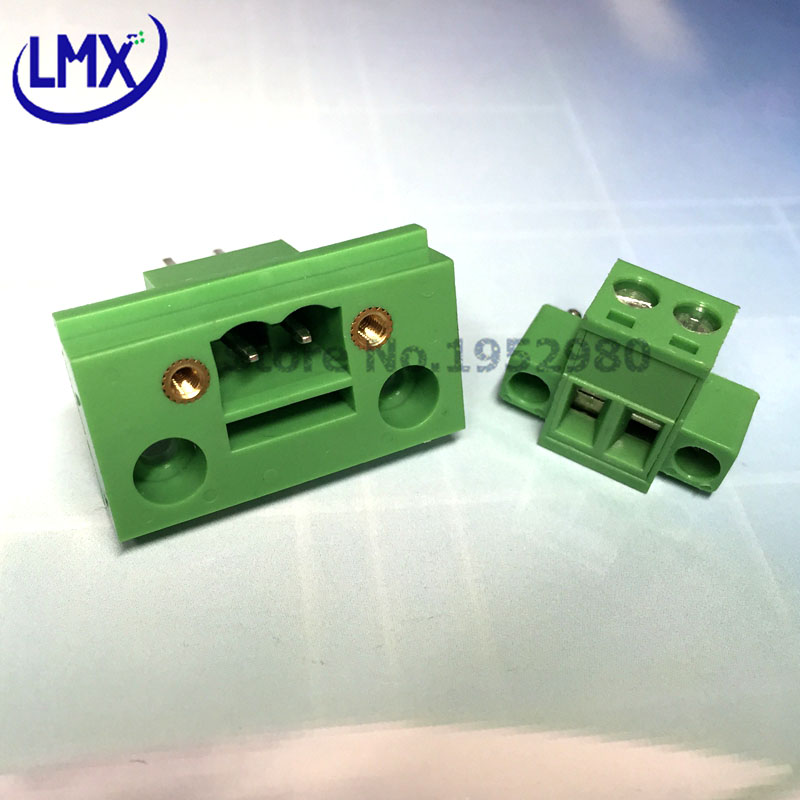 20 AWG Pluggable Terminal Block Push In 8 Ways 2.5 mm 26 AWG 0.5 mm²