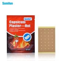 96Pcs Sumifun Capsicum Plaster Hot Back Pain Neck Pain Back Pain Muscle Pain Relief Patch Of