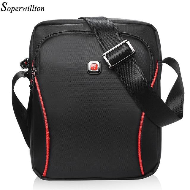 b86fe1e4ca Soperwillton 2018 Men Bag Wome Bag Drop Shipping IPAD Bag Factory Price  Large Capacity Oxford Shoulder Bag Female Male  106X on Aliexpress.com