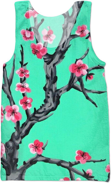 70782c8f0de Arizona Cherry Blossom Vest fashion 3D tank top sleeveless shirt Unisex top  tee