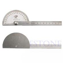 Нержавеющая сталь 180 градусов угломер рука Измерительная Линейка Инструмент