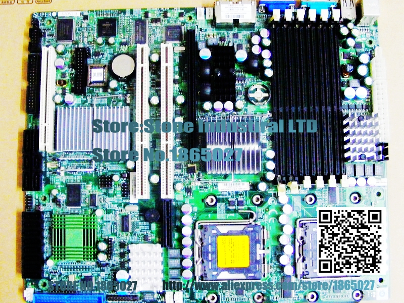 ФОТО X7DVL-3 -way 771 server board 5000V chipset supports SAS support 54 series 100% test