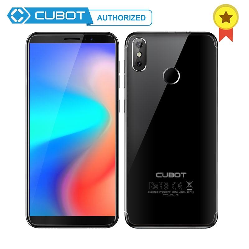 Cubot J3 プロ 18:9 5.5 ''Screen Android 行く MT6739 クアッドコア 1 ギガバイトの RAM 16 ギガバイト ROM スマートフォン 2800mAh デュアルバックカメラ 4 グラム指紋  グループ上の 携帯電話 & 電気通信 からの 携帯電話 の中 1