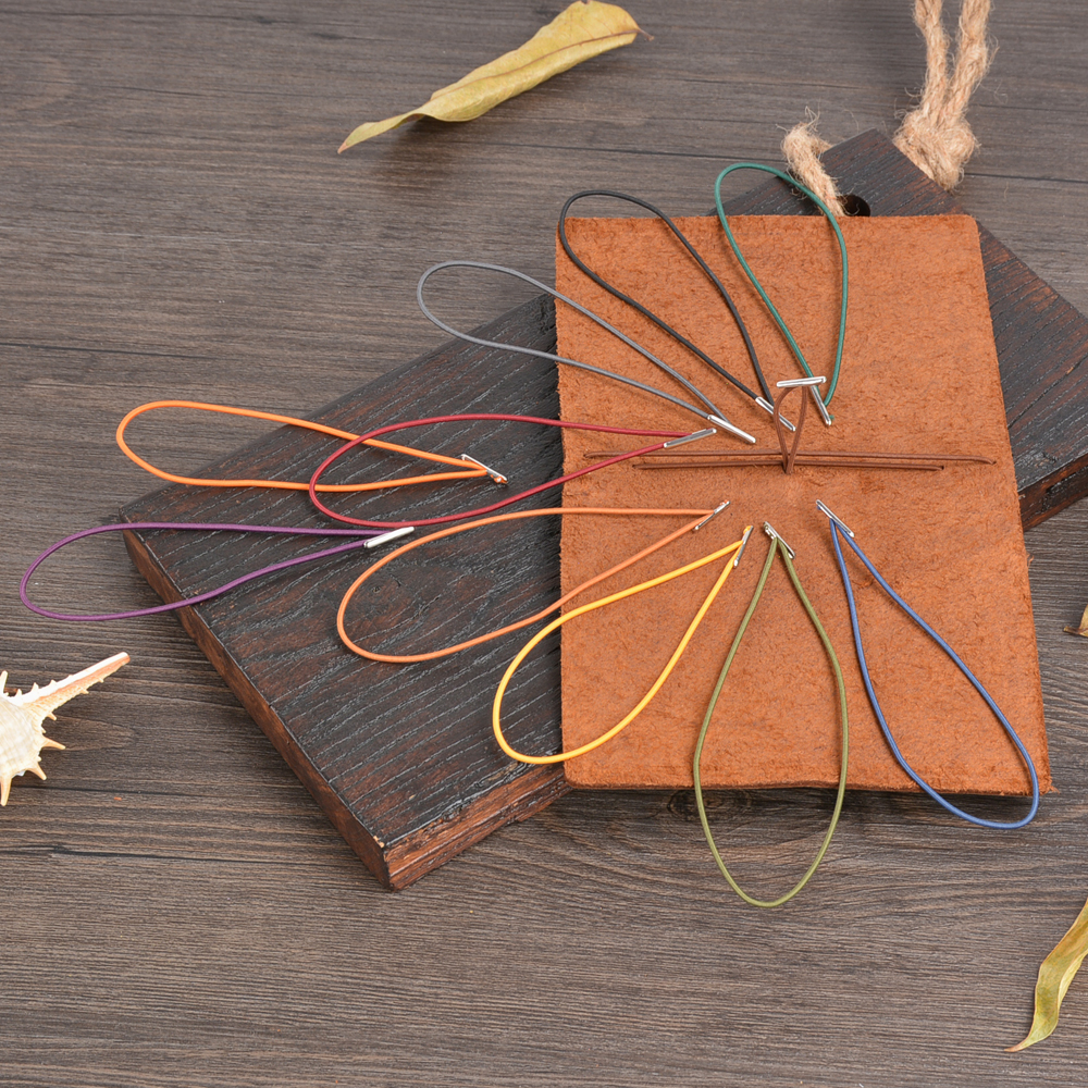 Japanese Vintage Elastic Band For Midori Traveler's Notebook Planner Repair Rubber Band Leather Journal & Notebooks Accessories