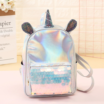 Cute Ear Unicorn Backpack