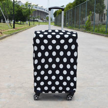 3pcs/lot Travel Thicken Elastic Pure Color Luggage Suitcase Protective Cover Apply to 18-32inch Cases Travel Accessories(China)