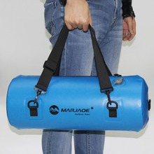 12L Inflatable PVC Hermetic Dry Waterproof Bag Pouch Ocean Pack For Swimming Water Proof Bag Impermeable Backpack Swim Buoy недорого