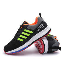 Spring and Winter Men Air Mesh Running Shoes Classic Striped Sports Shoes Outdoor Camping Trainer Sneakers Tactics Jogging Shoes