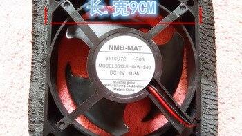 NMB Original NMB Large air volume 12V 0.3A refrigerator fan 9cm 3612JL-04W-S40