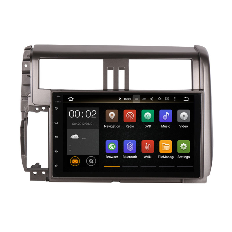 RAM 2GB Android 7 1 Fit Toyota PRADO Prado 150 2010 2011 2012 2013 font b