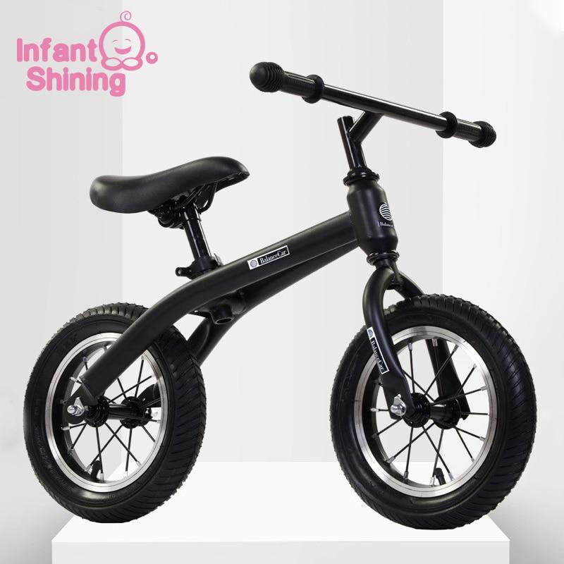 Bébé brillant Balance vélo enfants Scooter bébé marcheur enfants vélo de haute qualité deux roues 2-6 ans cadeau pour bébé jouets