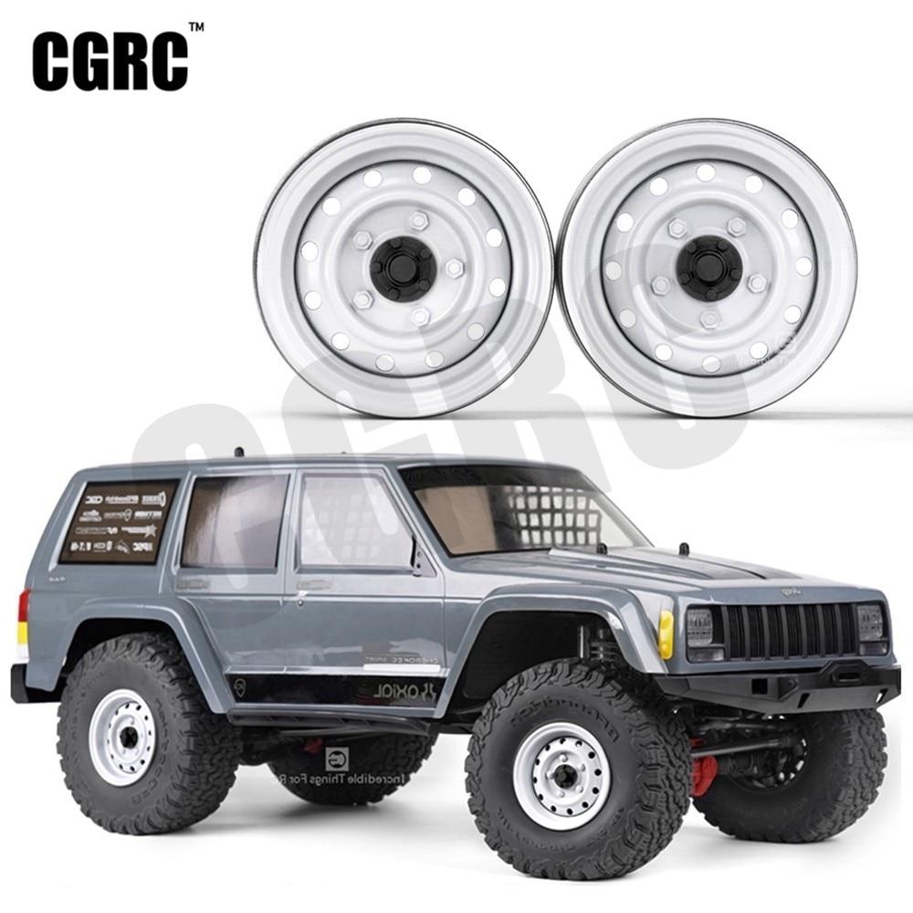 """4PCS Métal 1.9 /""""Beadlock Jantes pour 1//10 Rc Crawler TRX4 D90 SCX10 90046"""