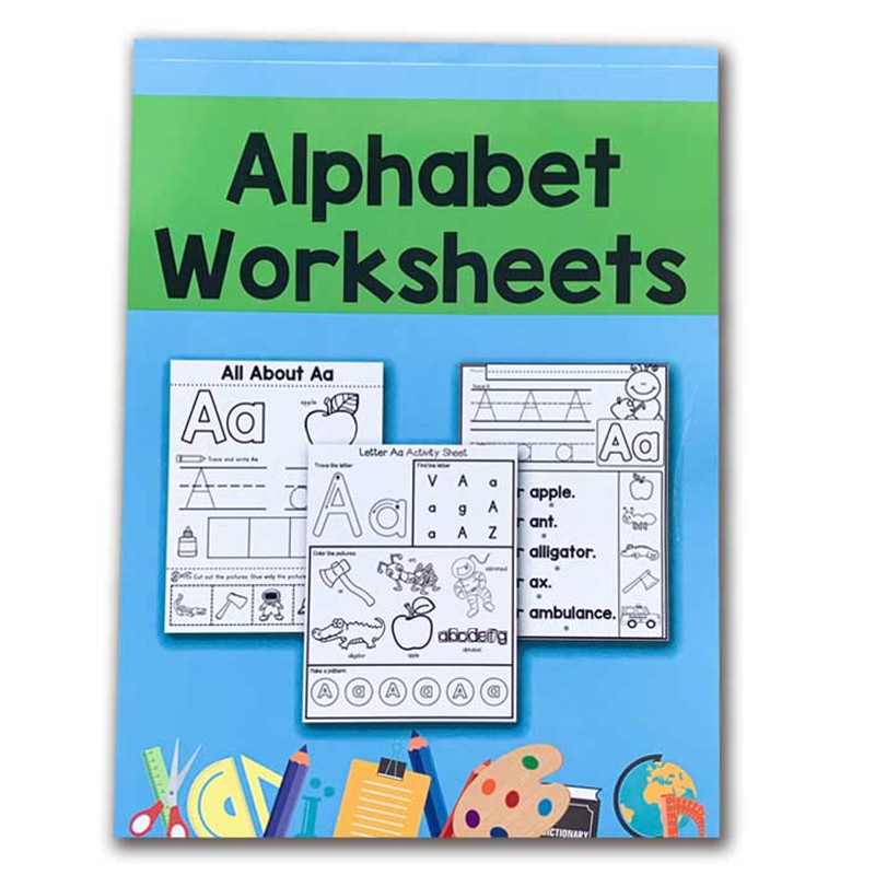 78 Pages/Book Children Learn English Letter Homework ABC 26 Alphabet Worksheets Writing Workbook  Educational Toys