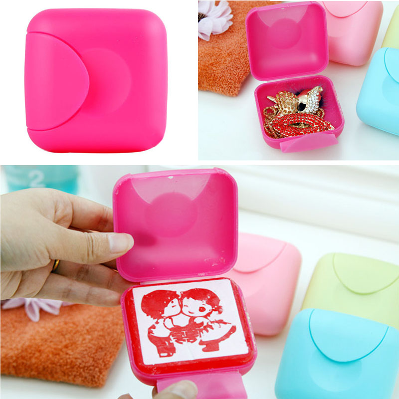 2 Sizes Handmade Soap Travel Box Bathroom Accessories Dish Case Waterproof Leakproof Holder With Lock In Sets From Home