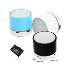 Bluetooth Stereo Speaker Music Mini Wireless Outdoor Portable Woofer Subwoofer Support U Disk TF Card Universal For Mobile Phone(China)