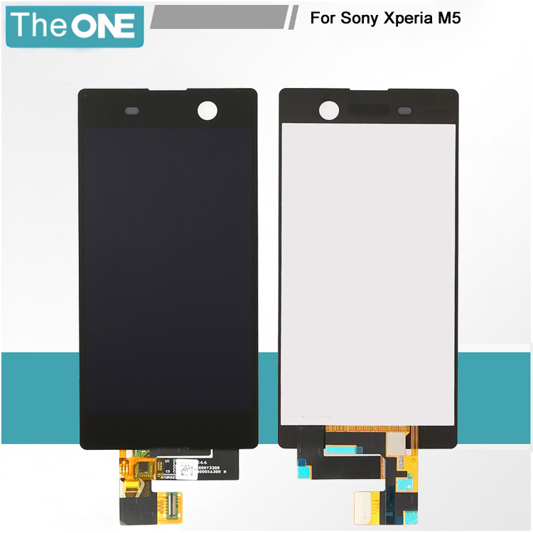 Подробнее о For Sony Xperia m5 LCD Screen Display and Touch Screen Digitizer Assembly Black and White Free Shipping wholesale black and white lcd screen display and touch screen digitizer assembly for sony for xperia m5 free dhl ems shipping