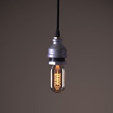 American Loft Style Water Pipe Lamp Retro Edison Pendant Light Fixtures For Dining Room Hanging Vintage Industrial Lighting american loft vintage pendant light wrought iron retro hanging lamp edison nordic restaurant light industrial lighting fixtures
