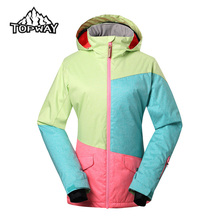 Hot Ventilated Leisure Snowboard Ski Women Jacket Hard Wearing Windproof Winter Outdoor Jaqueta Feminina Water Resistant Coat