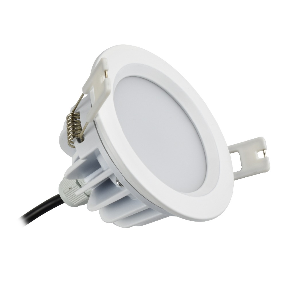 5w 7w LED Downlight 90mm 3.5inch, Open hole size 80mm 3inch AC 85-265V IP65 for outdoor bathroom Sauna room Ceiling Spot Light