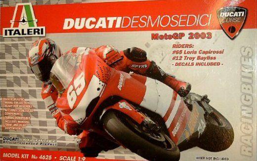 4625 1/9 moto assemblage des blocs de construction modèle 2003