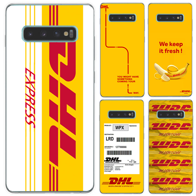 Luxury Brand Designer Logo Dhl Phone Case For Samsung S6 Edge Plus S7 S7edge S8 S8PLUS S9 S9PLUS S10 Lite PLUS Soft Tpu Coque