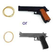 HBB игрушки для детских спортивных игр классический сборочный пистолет с резиновой лентой стрелок стрельба Дети Детские игрушки портативный
