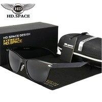 HD משקפי שמש מעצב מותג משקפי שמש מקוטבות גברים קלאסיים אל Mg משקפיים נהיגה סגסוגת למעלה כיתה זכר מזדמן Oculos דה סול LD118