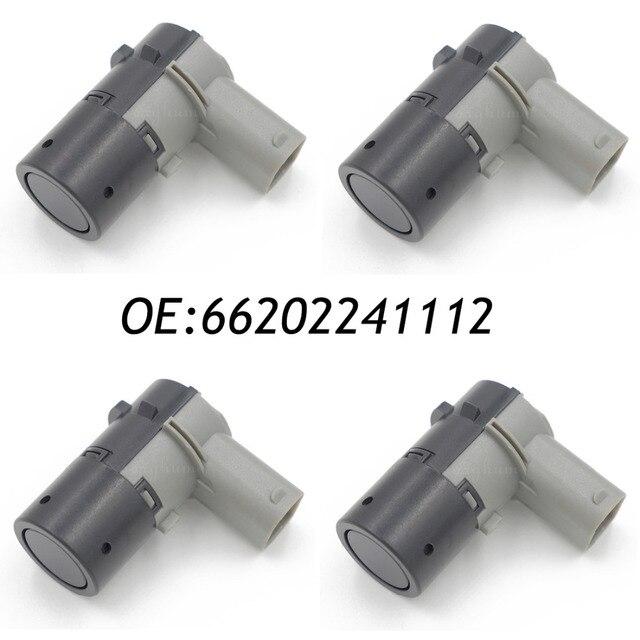 4PCS Parking Aid Sensor PDC For BMW 5 E39 X5 E53 X3 E83 E83N 66202241112,66216911834,2241112