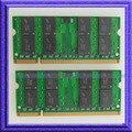 Полный Тест!! 4 ГБ 2x2 ГБ PC2-5300 DDR2-667 667 МГц 200pin SO-DIMM Памяти Ноутбука Ноутбук ОПЕРАТИВНОЙ ПАМЯТИ ddr2 667 памяти 200PIN бесплатная Доставка